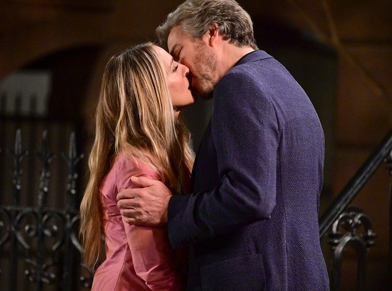 Sarah Jessica Parker, Jon Tenney, And Just Like That set