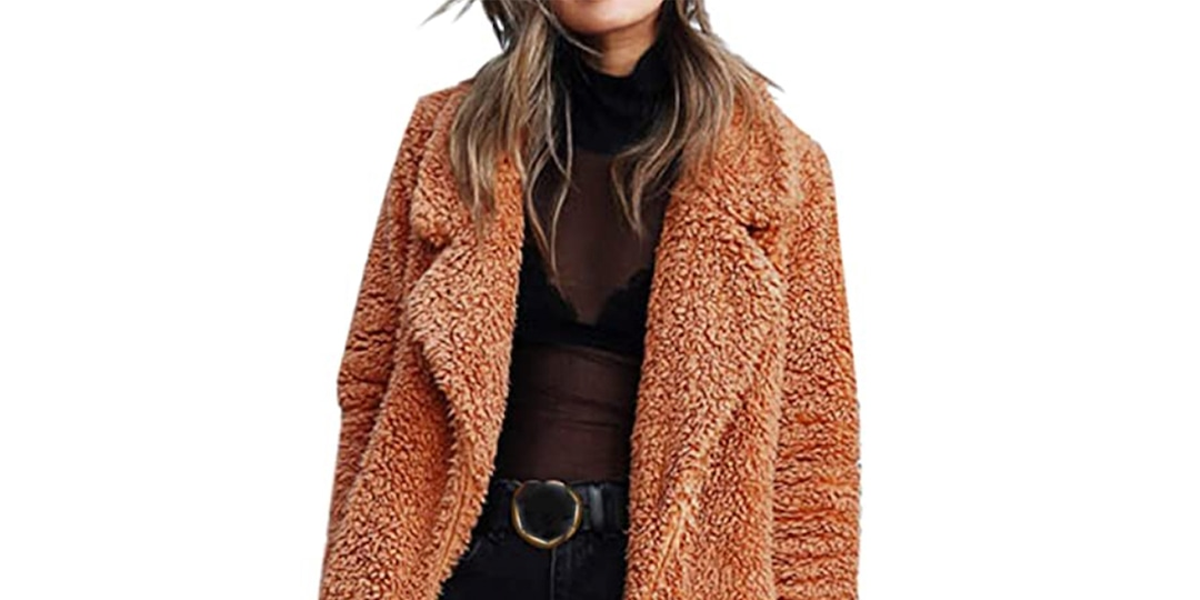 This $42 Teddy Coat From Amazon Looks Just Like Mabel Mora's in Only Murders in the Building - E! Online.jpg