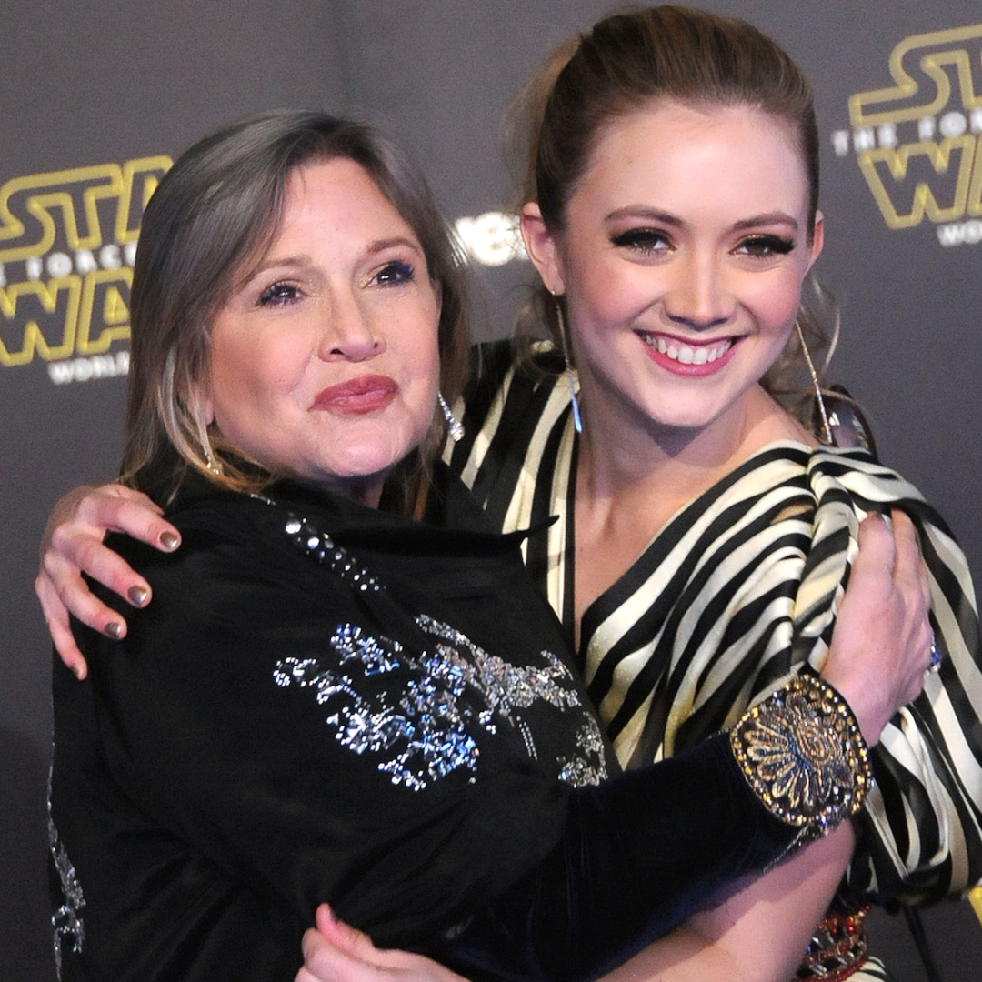 , Billie Lourd Honors Late Mom Carrie Fisher With Heartwarming Childhood Photo – E! Online,