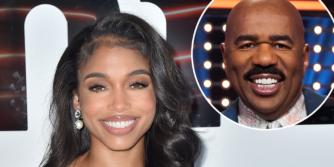 """Lori Harvey Weighs In on Dad Steve Harvey's New Status as a """"Style Icon"""" - E! Online.jpg"""