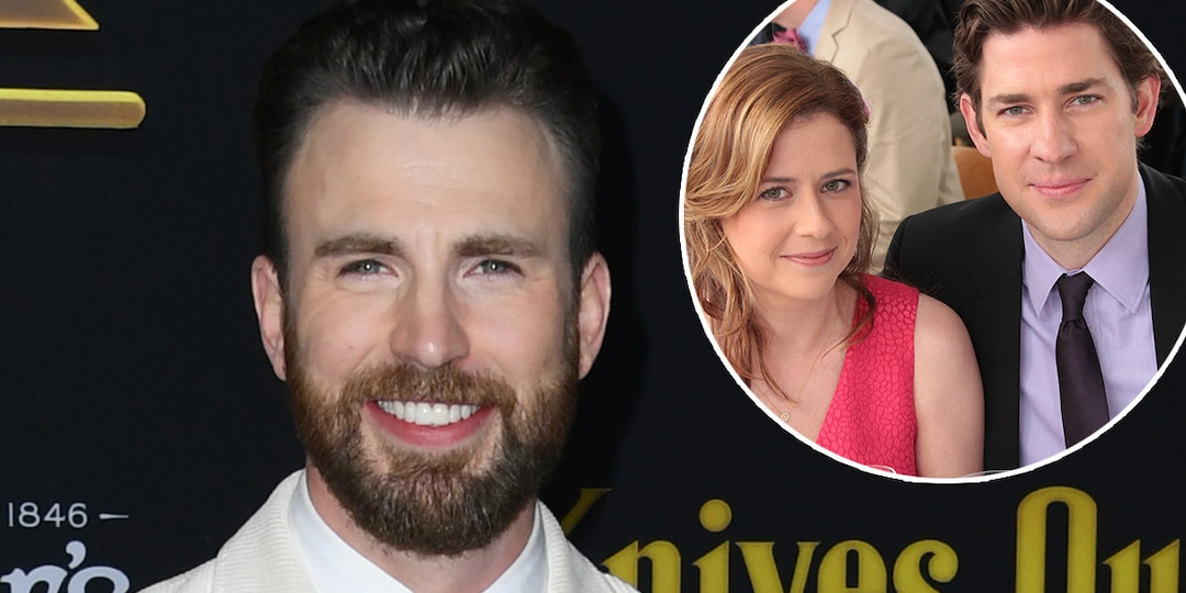 Chris Evans' Tweets About The Office's Jim & Pam Will Make You Swoon - E! Online.jpg