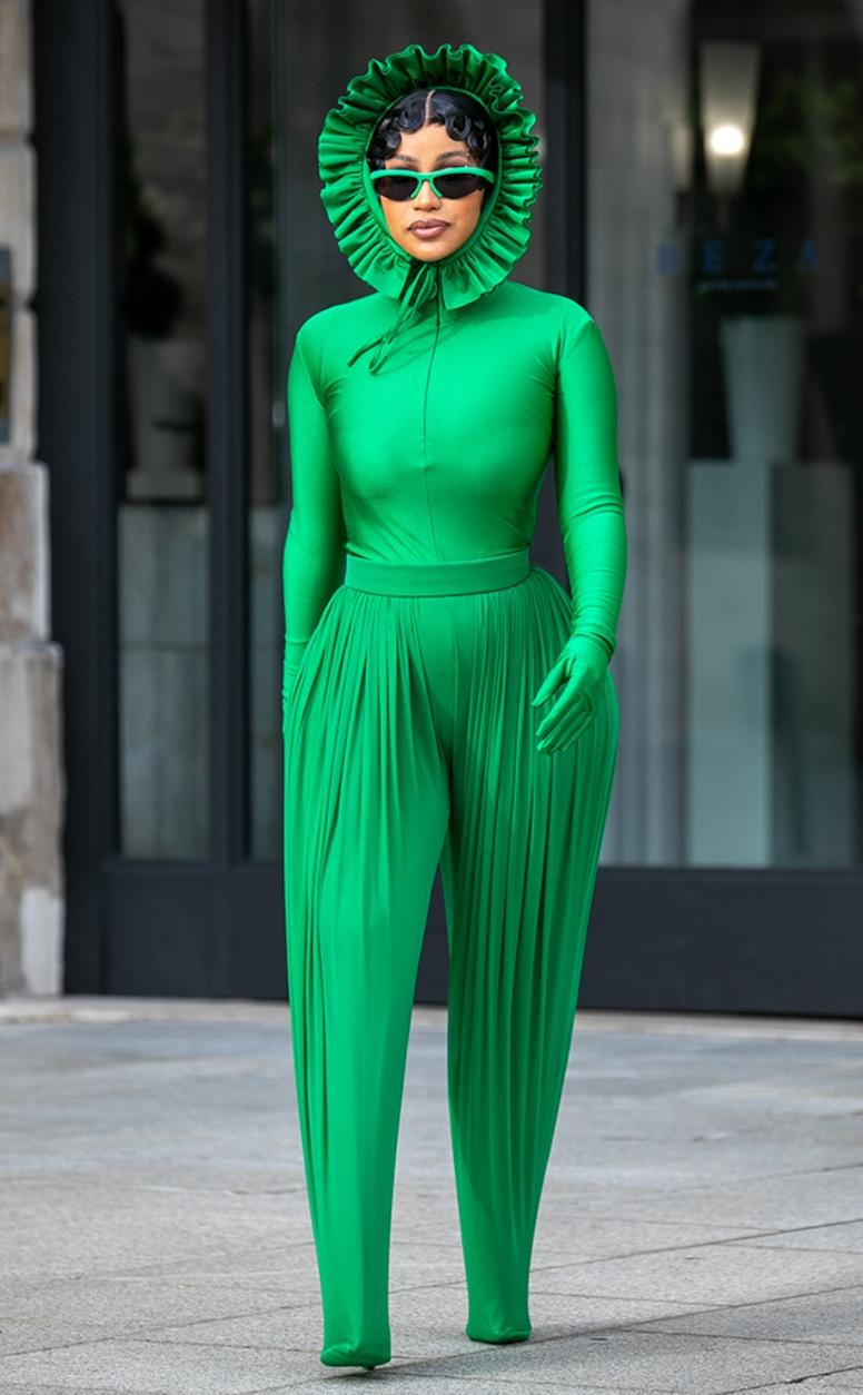 Cardi B, Paris Fashion Week