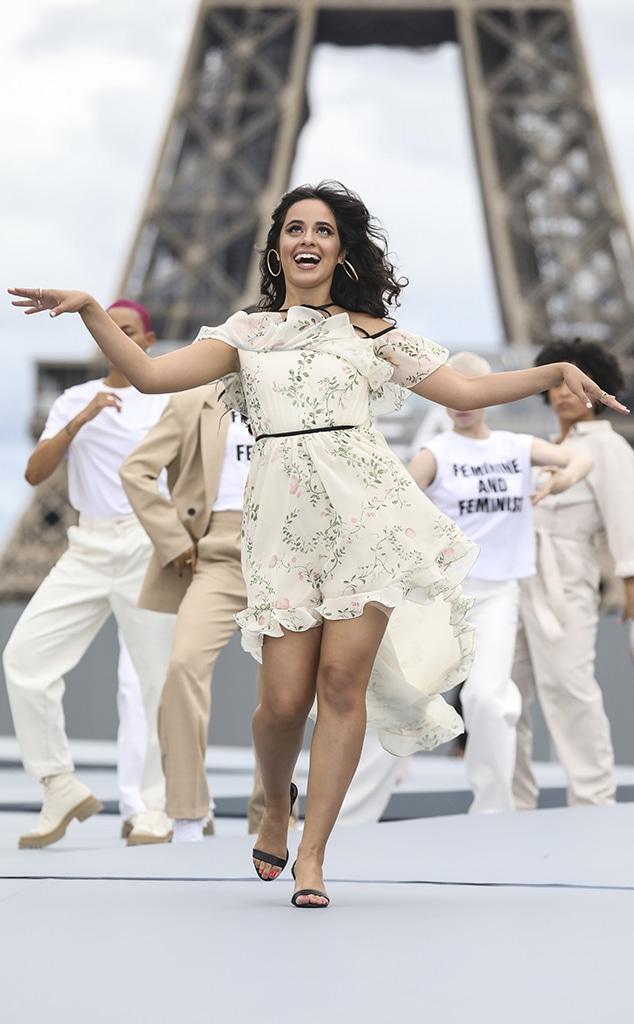 Camila Cabello, Paris Fashion Week