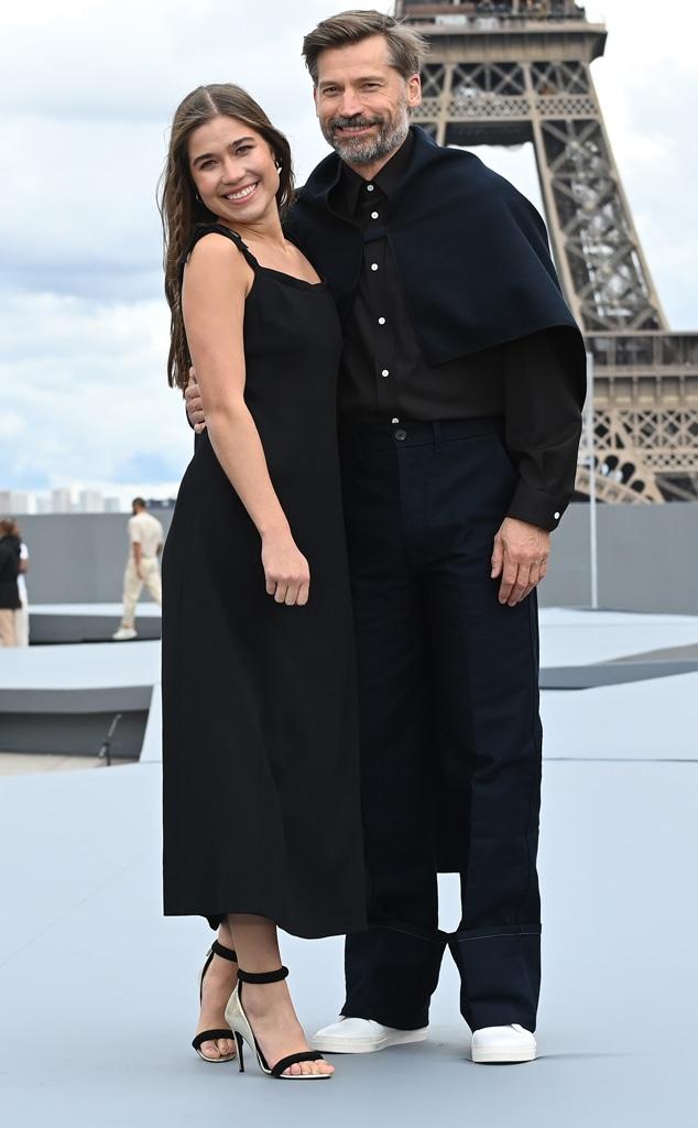 Nikolaj Coster-Waldau, Fillippa Coster-Waldau, Le Defile L'Oreal Paris 2021