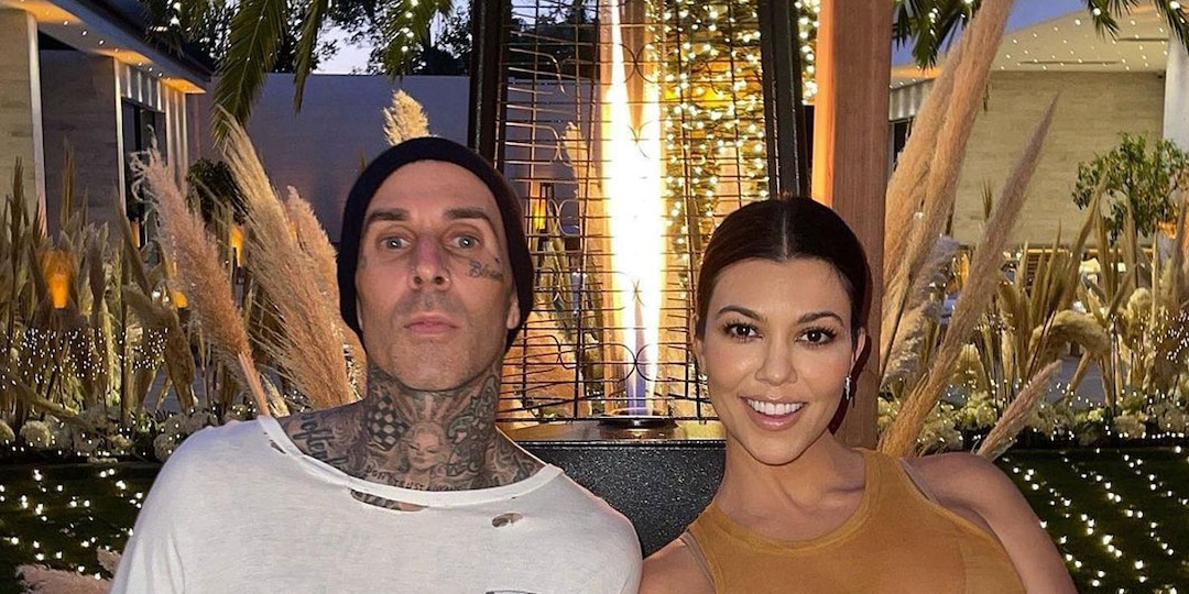 Kourtney Kardashian and Travis Barker Step Out for Stylish Date Night in NYC with Kendall Jenner - E! Online.jpg