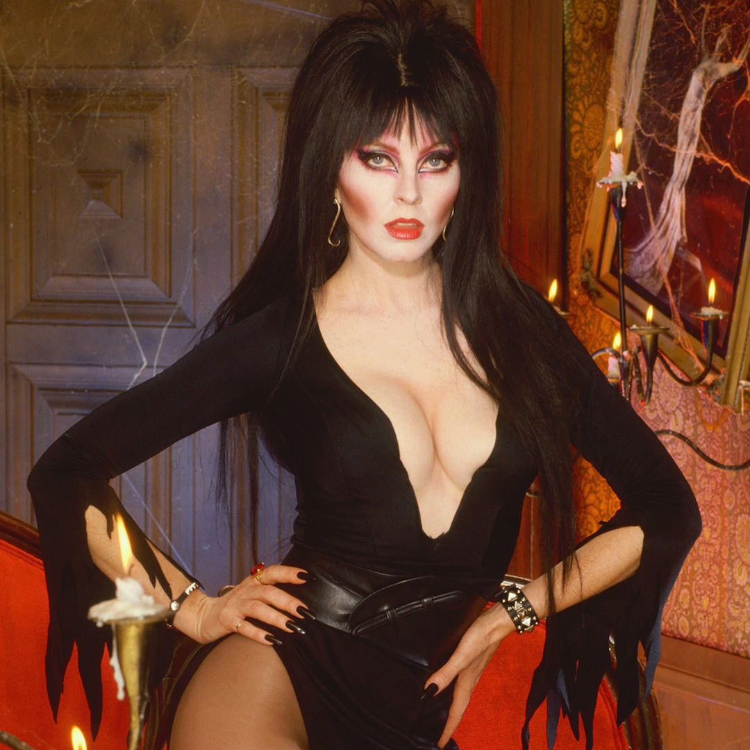 Elvira Pulls Back the Curtain on Her Beloved Halloween Persona