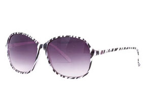 Delia's Zebra Sunglasses