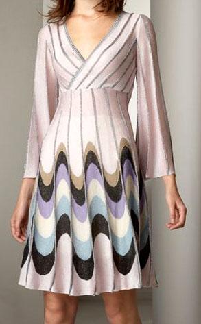 M. Missoni Wave-Print Dress