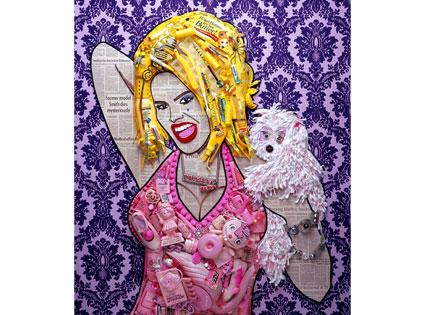 Anna Nicole Smith by Jason Mercier