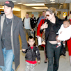 Brad Pitt, Angelina Jolie, Maddox, Zahara