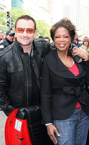 Bono, Oprah Winfrey