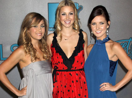 Lauren Conrad, Whitney Port, Audrina Patridge