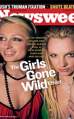 Newsweek Cover : Paris Hilton, Britney Spears
