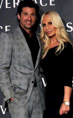 Patrick Dempsey, Donatella Versace