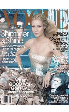 Gwyenth Paltrow, Vogue Magazine