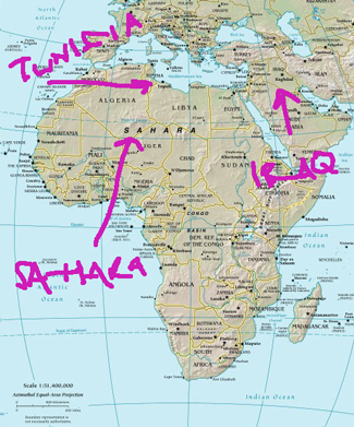Lost Map of Africa, Shape of Things to Come